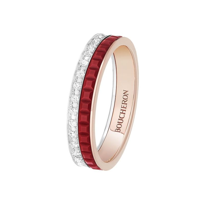 First product packshot Quatre Red Edition Mini ring