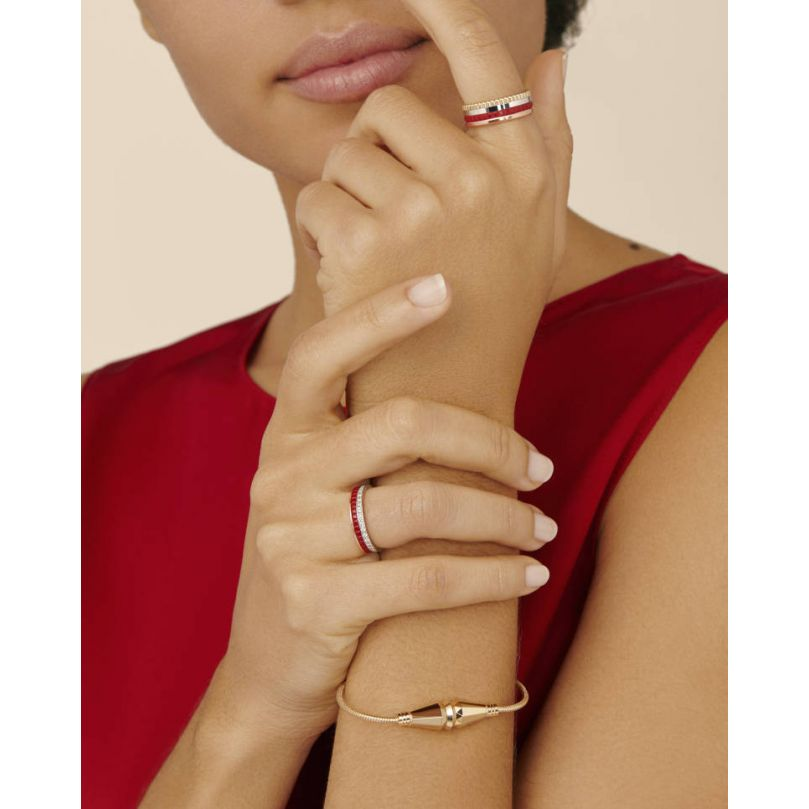 Second worn look Quatre Red Edition Mini ring