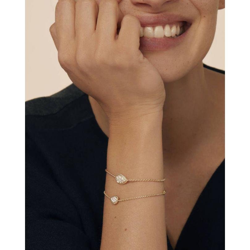 Second worn look Bracelet Serpent Bohème Motif S