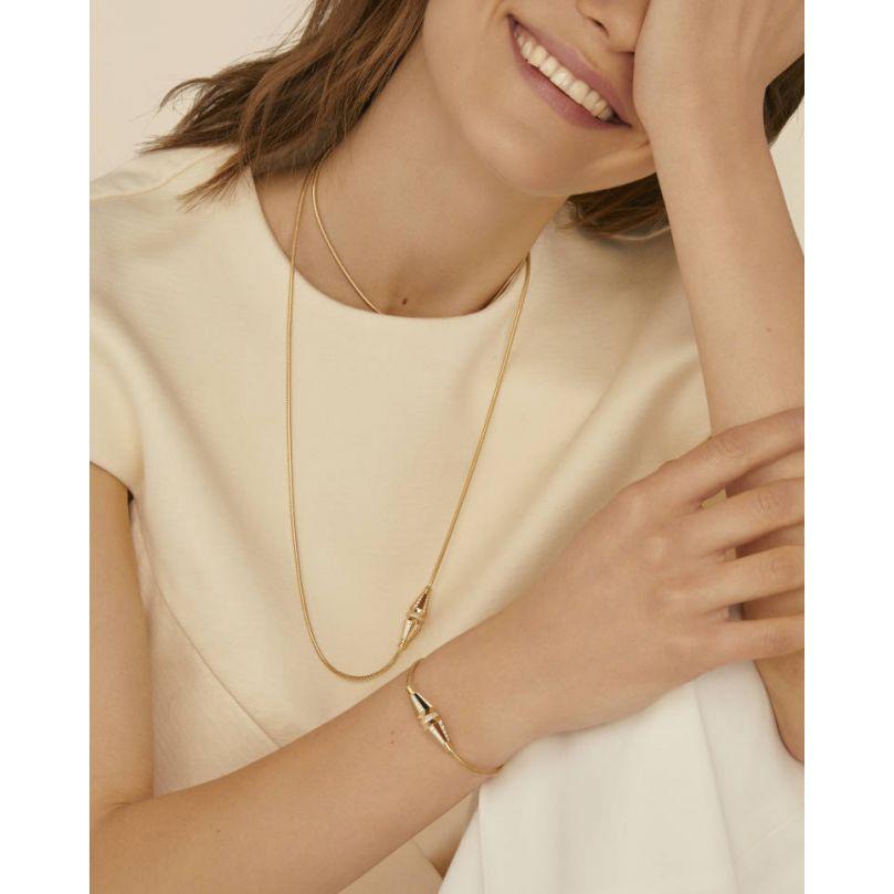 Second worn look Jack de Boucheron long necklace