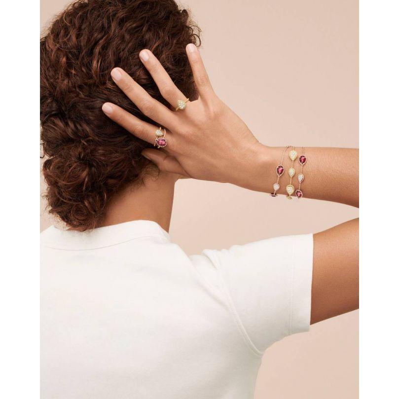 Second worn look Serpent Bohème Bracelet, five motifs