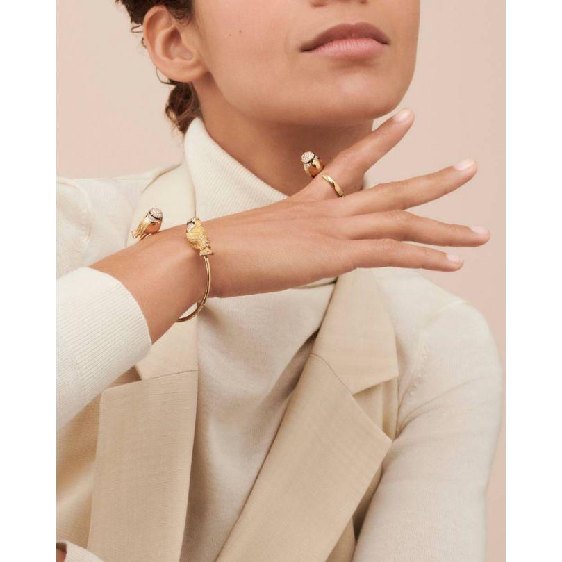 Second worn look Meisa, The Chickadee Bracelet