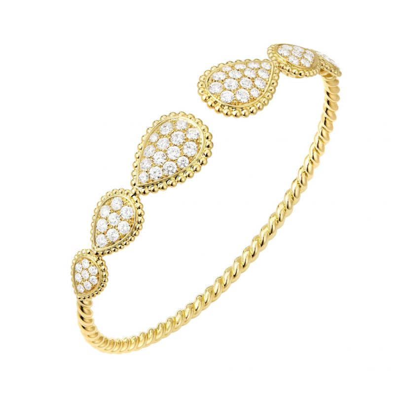 First product packshot Bracelet Serpent Bohème multi-motifs
