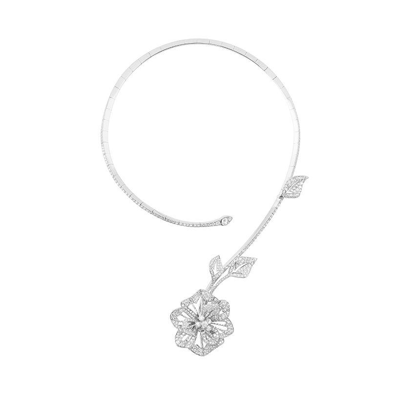 First product packshot Pensée de Diamants問號項鍊