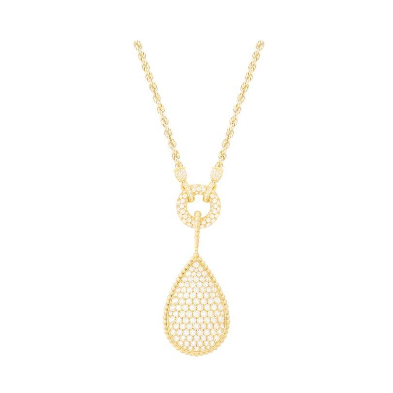 First product packshot Serpent Bohème necklace XXL Motif