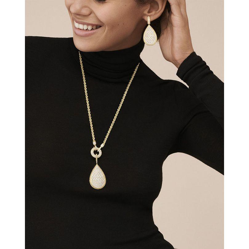 Second worn look Serpent Bohème necklace XXL Motif