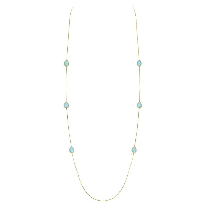 First product packshot Serpent Bohème long necklace, 6 Motifs