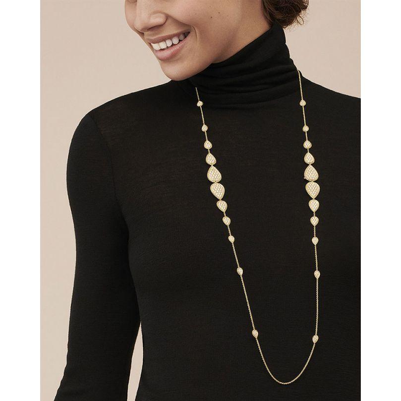 Second worn look Long necklace Serpent Bohème