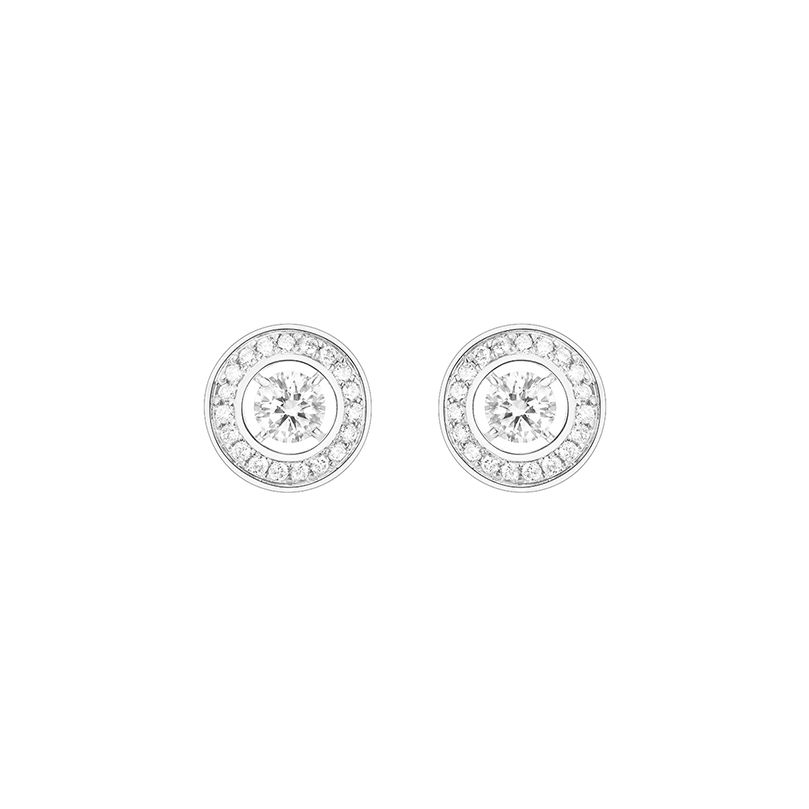 First product packshot Ava Round stud earrings