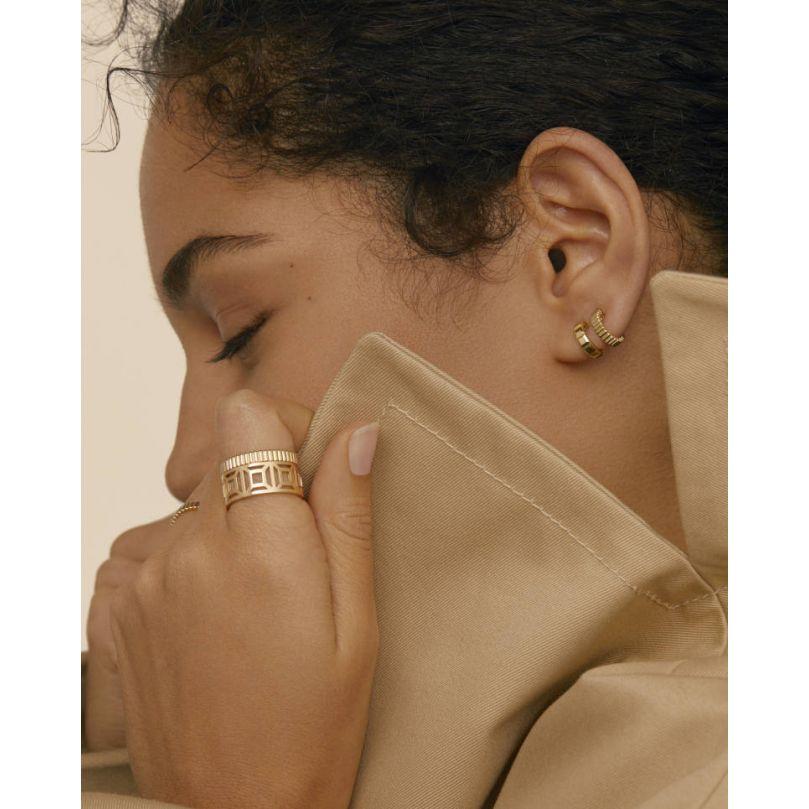 Second worn look Quatre Clou de Paris系列耳環