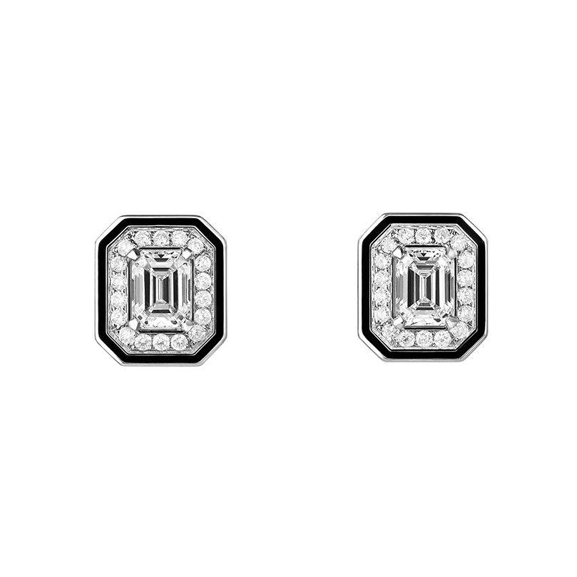 First product packshot Vendôme Liseré Stud Earrings