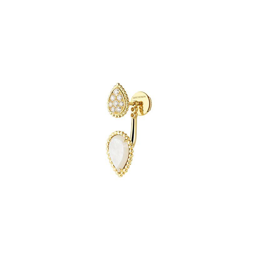Second product packshot Serpent Bohème Stud earring S and XS motifs