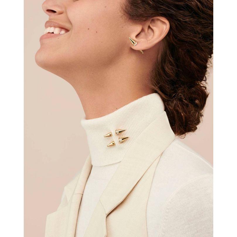 Second worn look Jack de Boucheron single stud earring