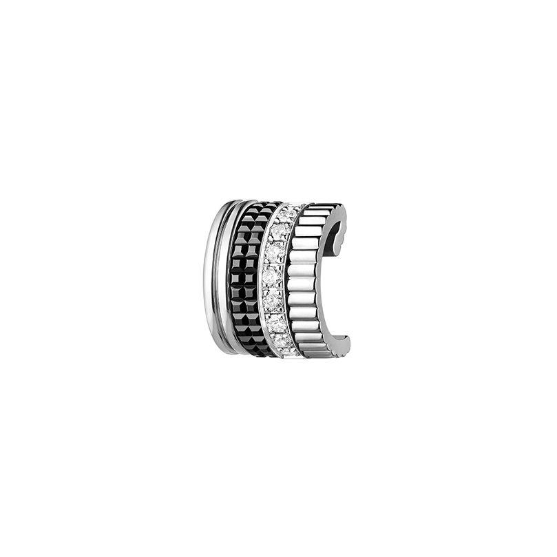 First product packshot Quatre Black Edition Single Clip Earring