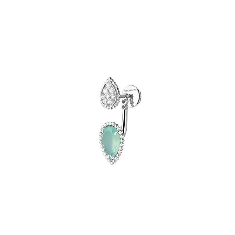 Second product packshot Serpent Bohème single stud earring, S and XS motifs