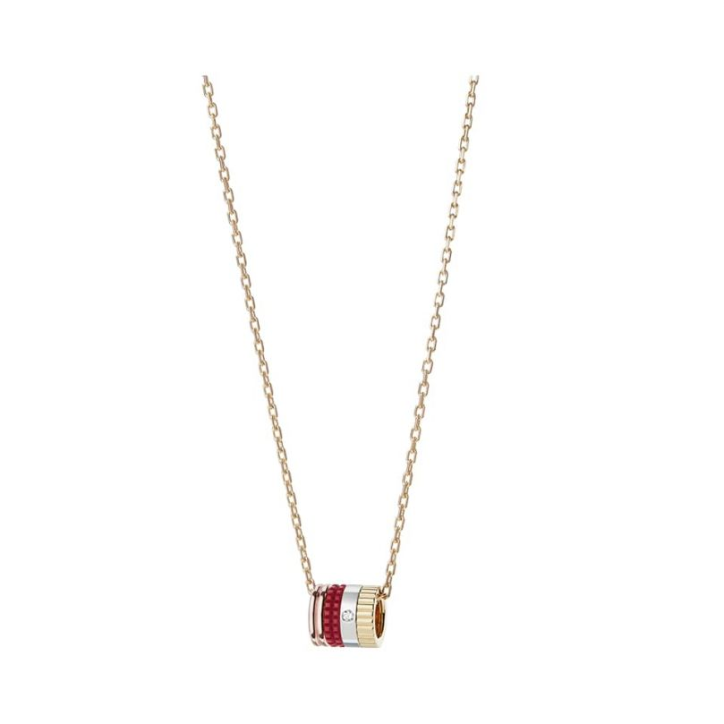 First product packshot Quatre Red Edition Mini Ring Pendant