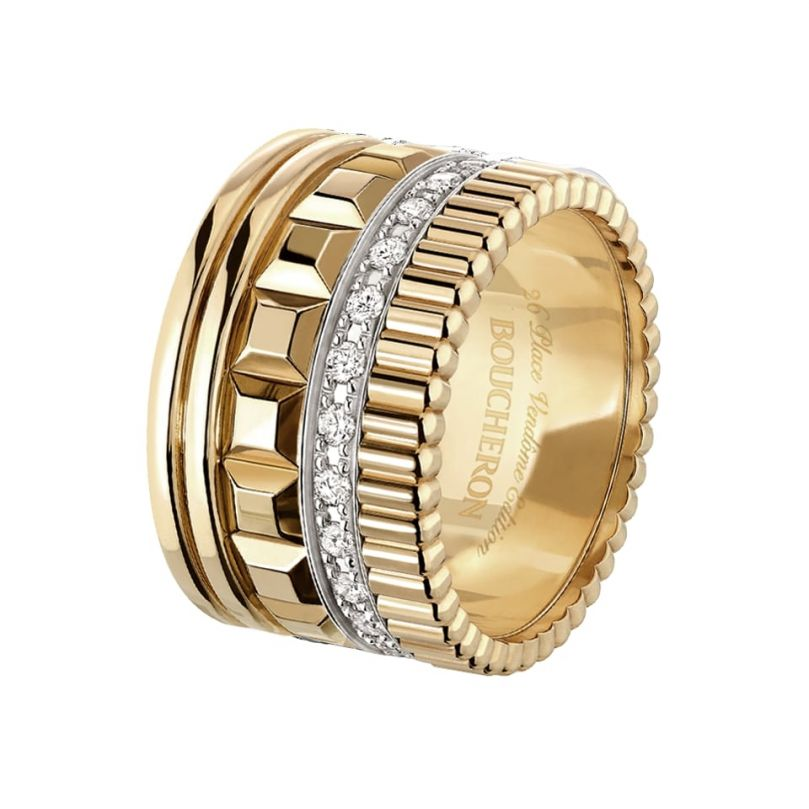 First product packshot Quatre Radiant Edition Ring