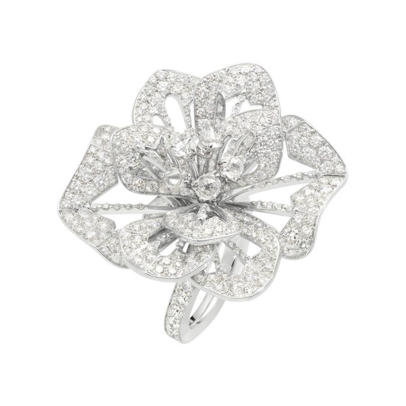 First product packshot Pensée de Diamants戒指