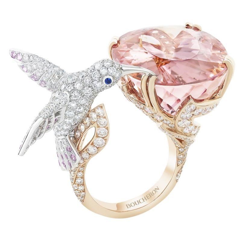 First product packshot Hopi, the hummingbird ring