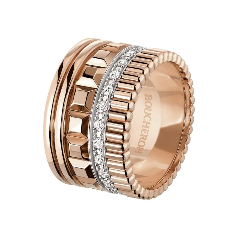 First product packshot Quatre Radiant Edition large ring