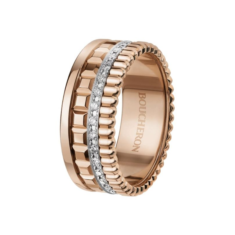 First product packshot Quatre Radiant Edition small ring