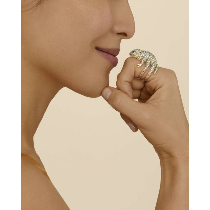 Second worn look Masy, the Chameleon Ring