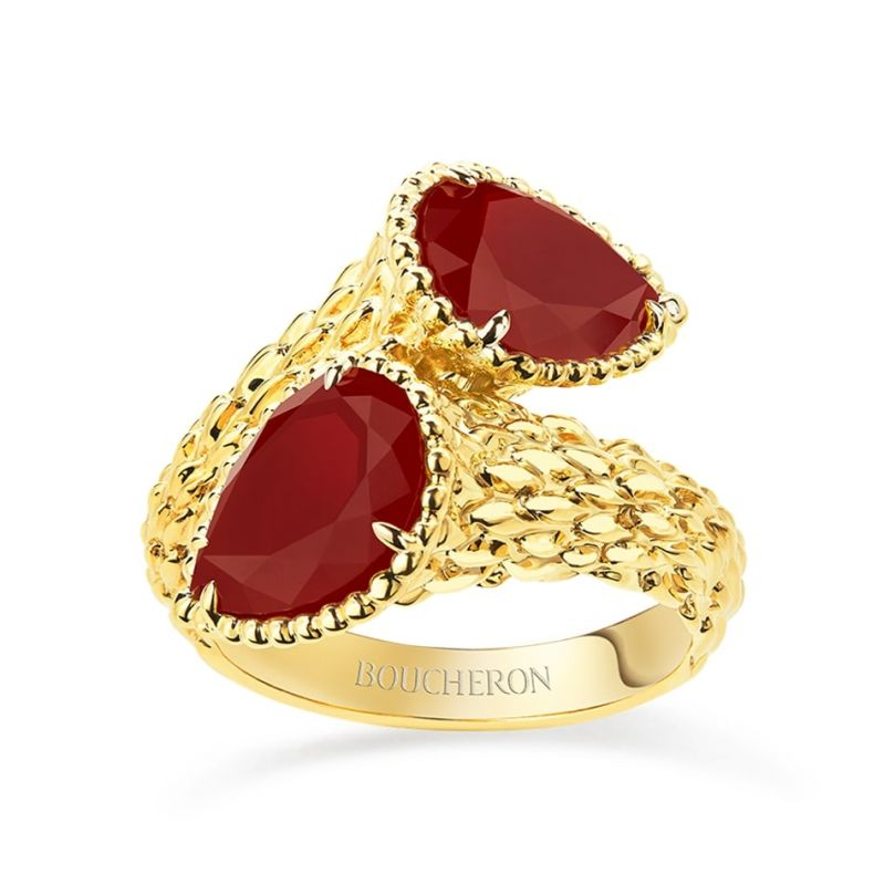 First product packshot Serpent BohèmeTwo-stone Ring, S motifs