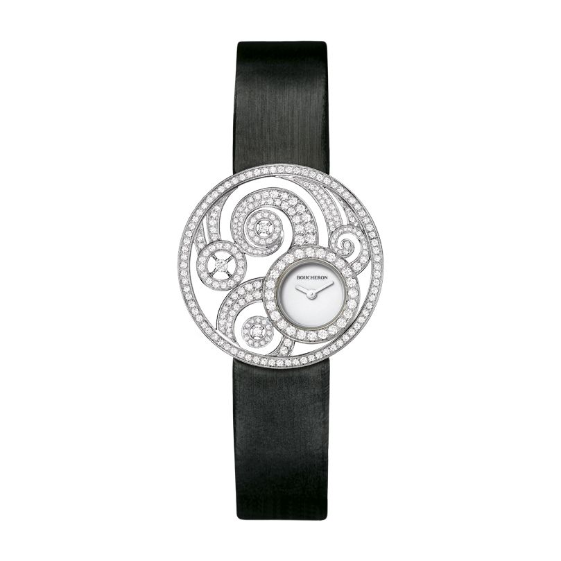 First product packshot Ajourée Volute Jewelry Watch