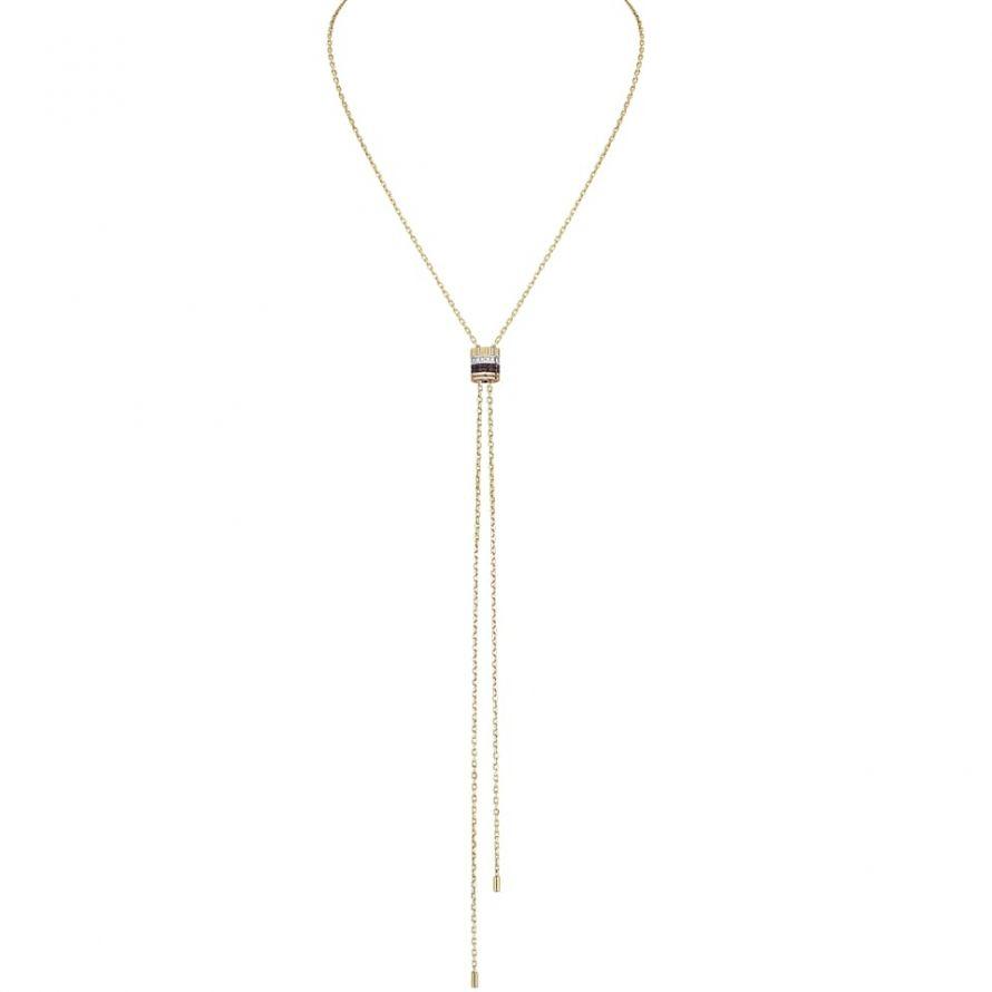 First product packshot Quatre Classique Tie Necklace, large model