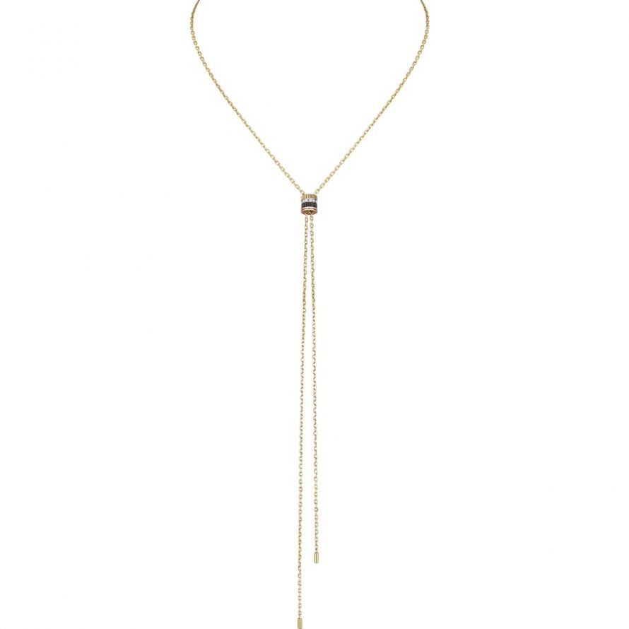 First product packshot Quatre Classique Tie Necklace, small model