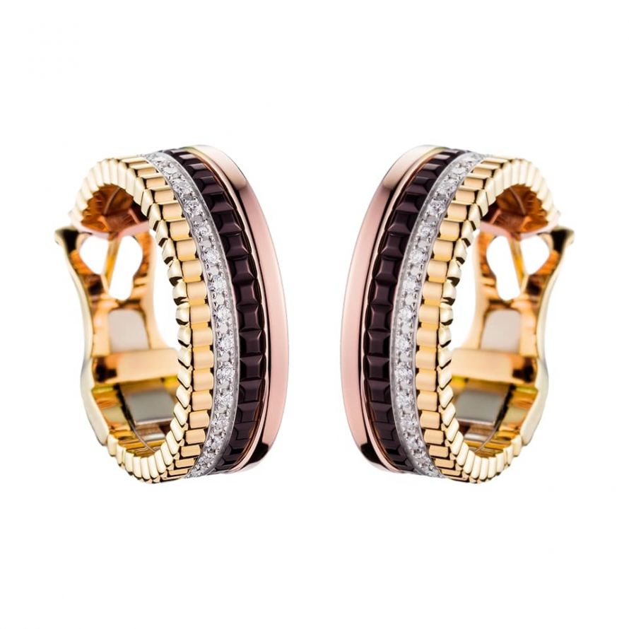 First product packshot Quatre Classique Hoop Earrings