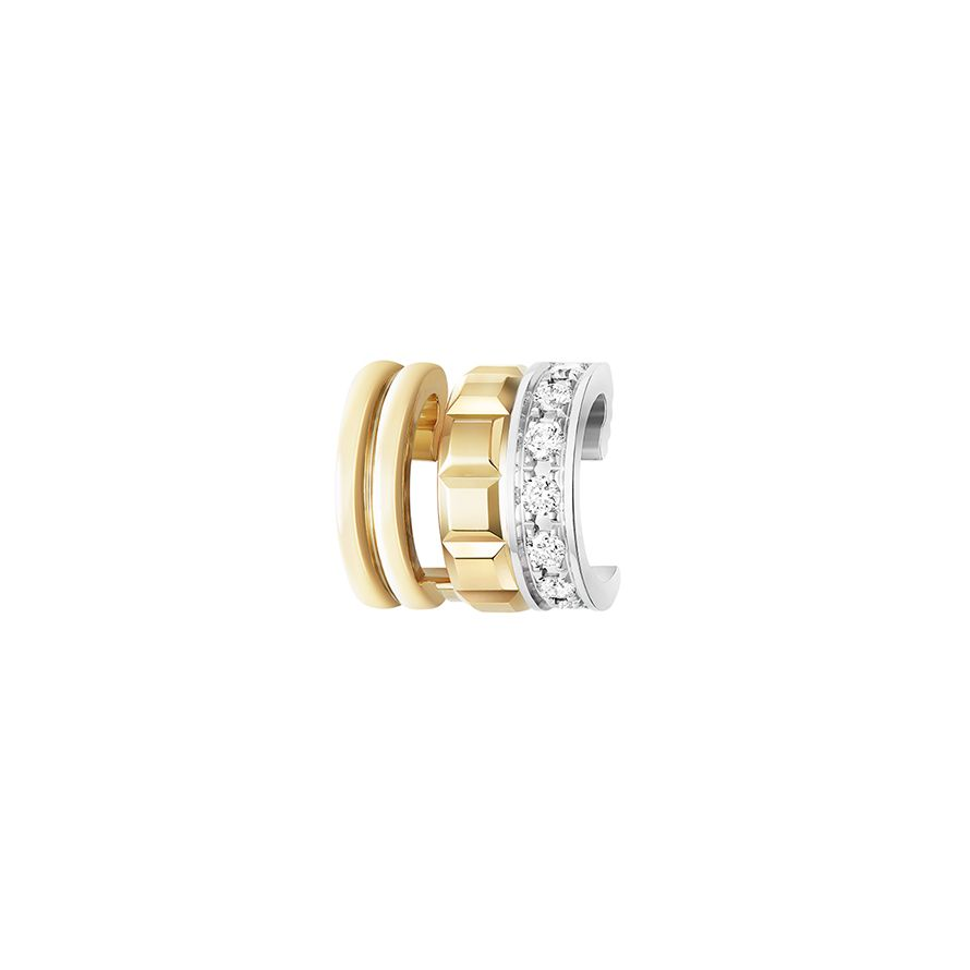 First product packshot Quatre Radiant Edition Mini Ring Single Clip Earring