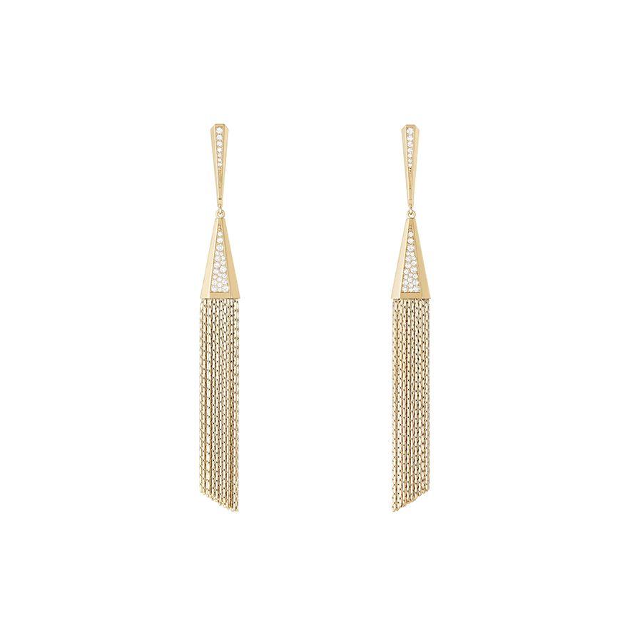 First product packshot Delilah Pendant Earrings