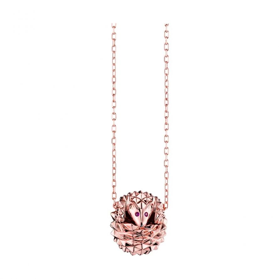 First product packshot Hans, the hedgehog pendant
