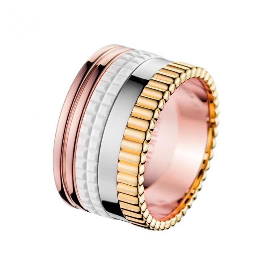 First product packshot Quatre White Edition Large Ring