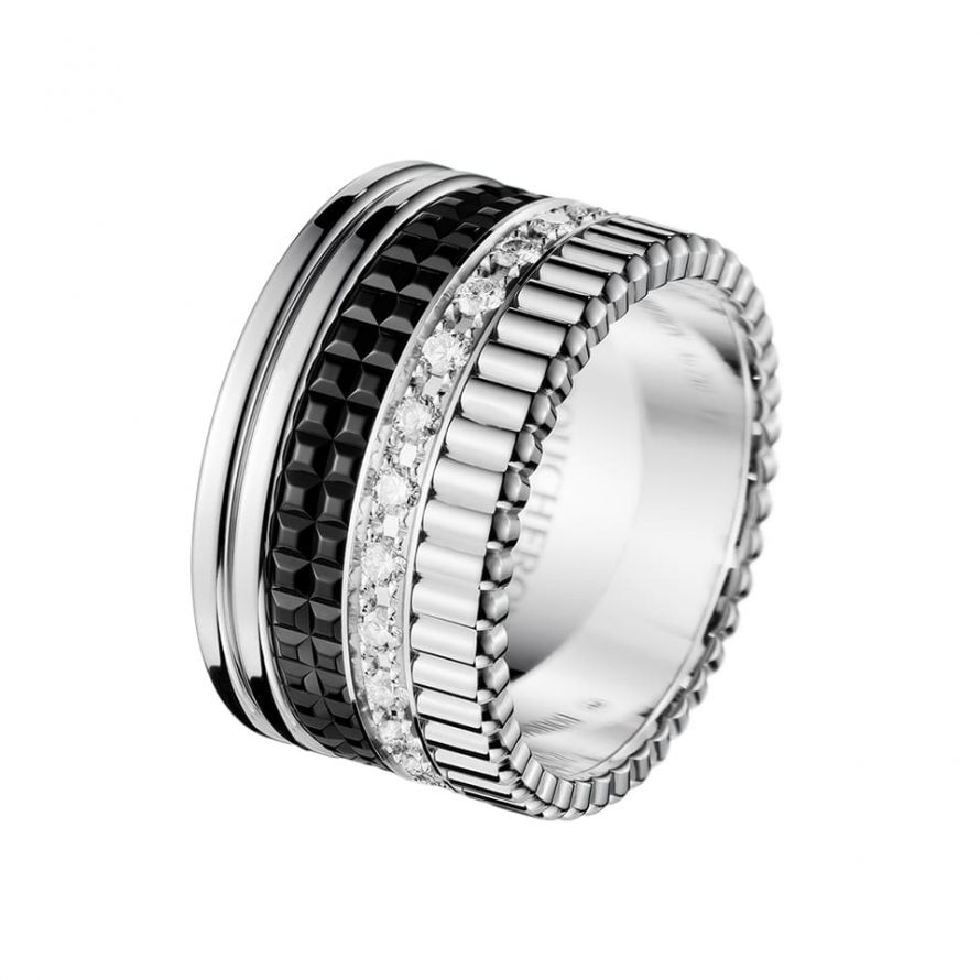 First product packshot Quatre Black Edition Large Ring