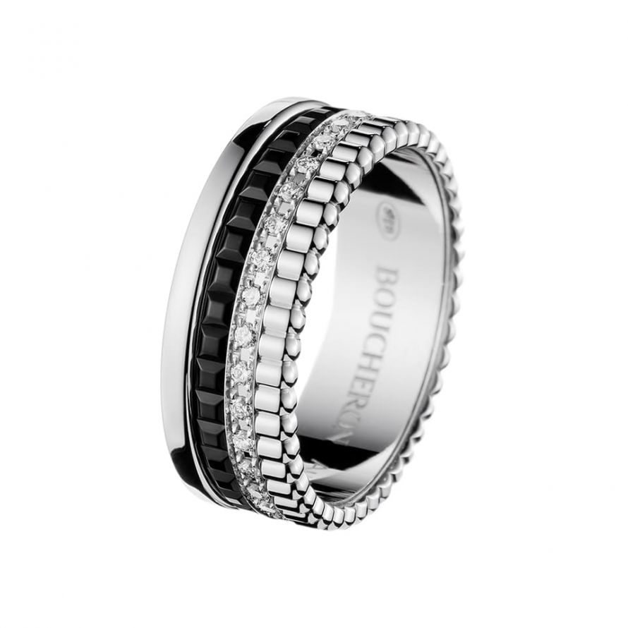 First product packshot Quatre Black Edition Small Ring