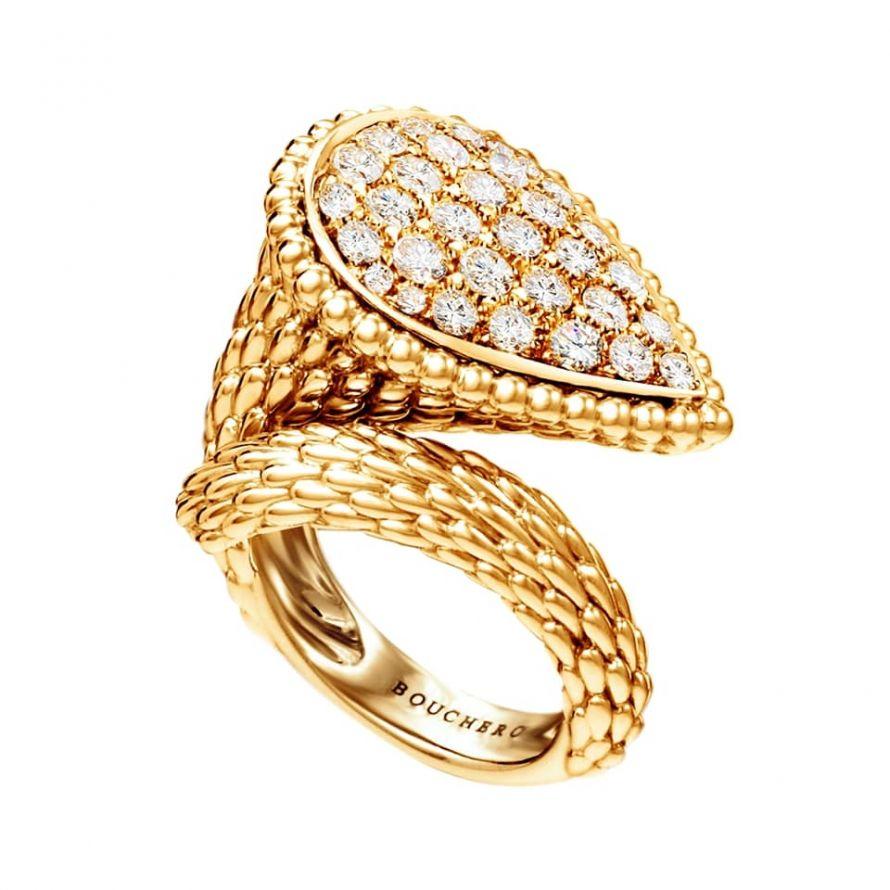 First product packshot Serpent Bohème Ring L Motif