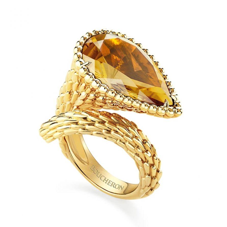 First product packshot Serpent Bohème Ring, L Motif