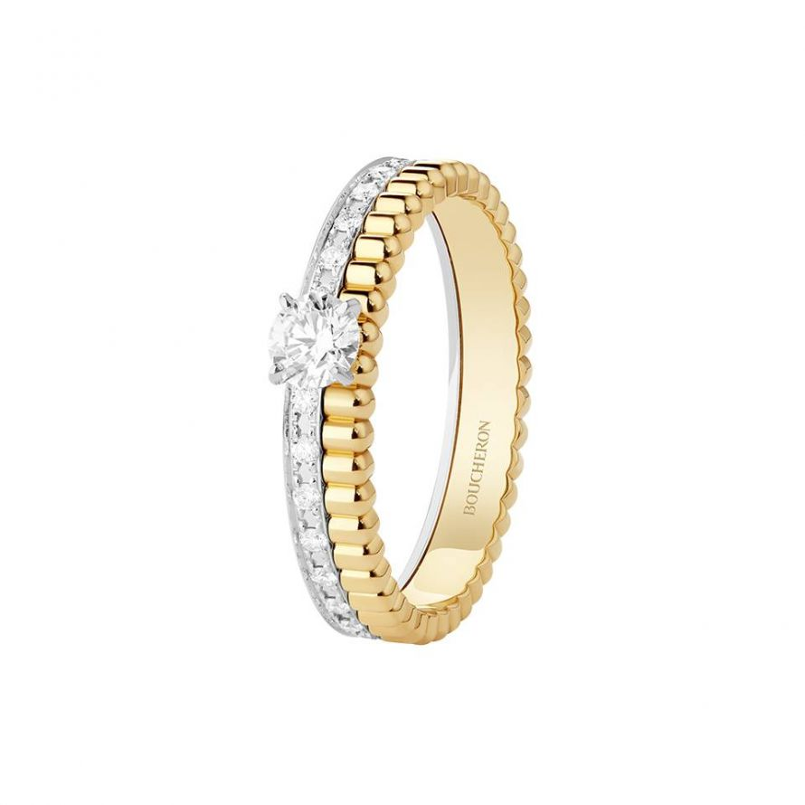 First product packshot Quatre Radiant Edition Engagement Ring