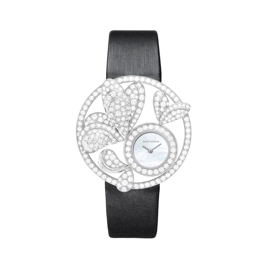 First product packshot AJOURÉE BOUQUET D'AILES JEWELRY WATCH