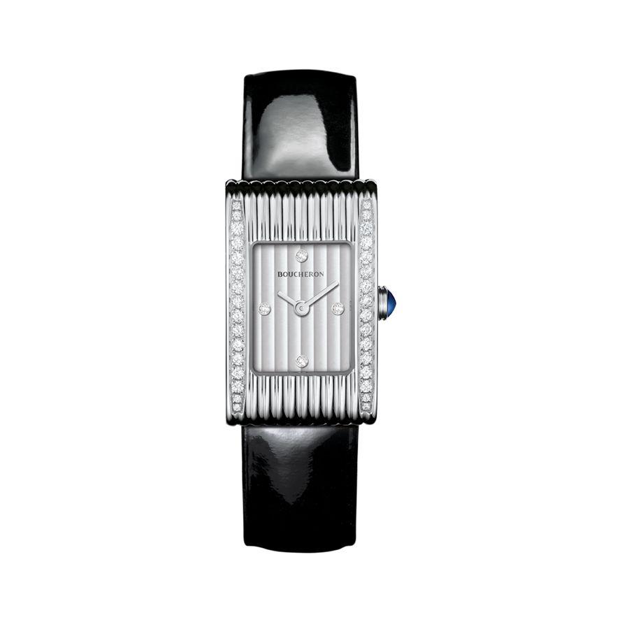 First product packshot REFLET SMALL リフレ ウォッチ スティール ダイヤモンド スモール