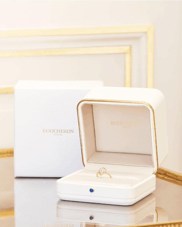 boucheron's refined product packaging